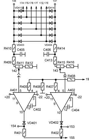 Рис. 3.4 Схема ограничения