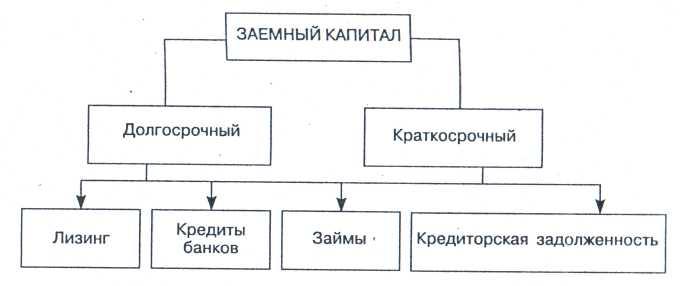 Рис 3 структура заемного капитала 3