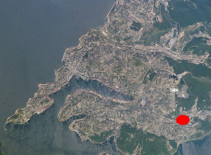 Спутниковая карта владивостока в реальном времени высокого разрешения