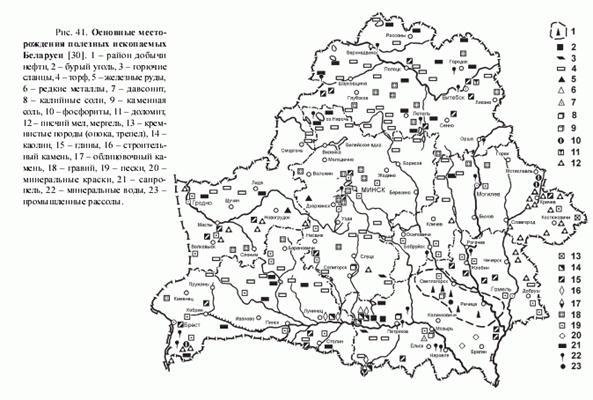 Полезные ископаемые беларуси реферат 1172