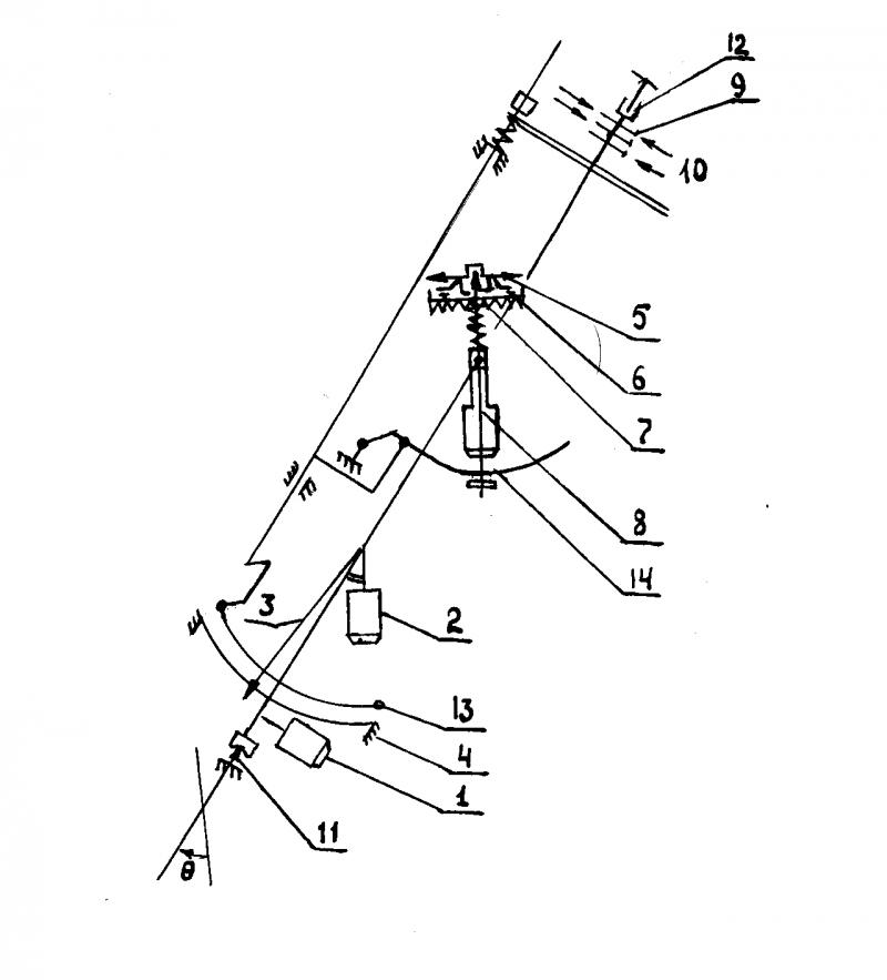 Схема измерительной части