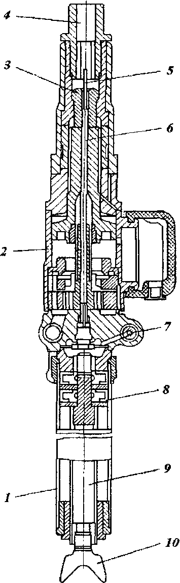 Телескопный перфоратор ПТ48А