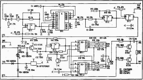Схема радиомодема