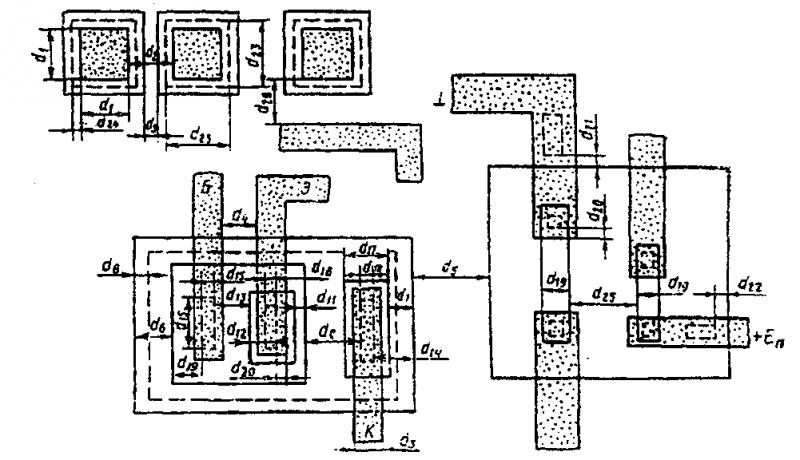 интегральной микросхемы на