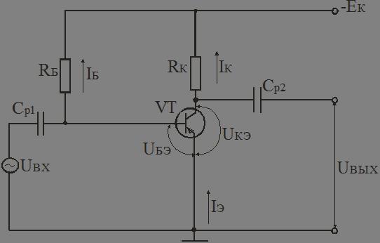 Простейшая схема резистивного