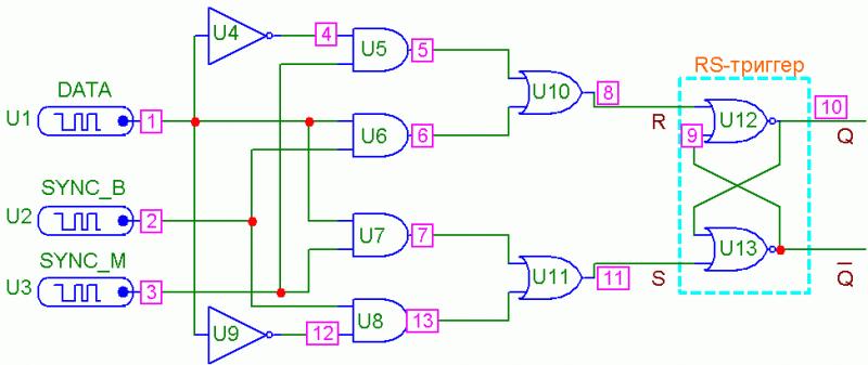 Схема преобразователя кода