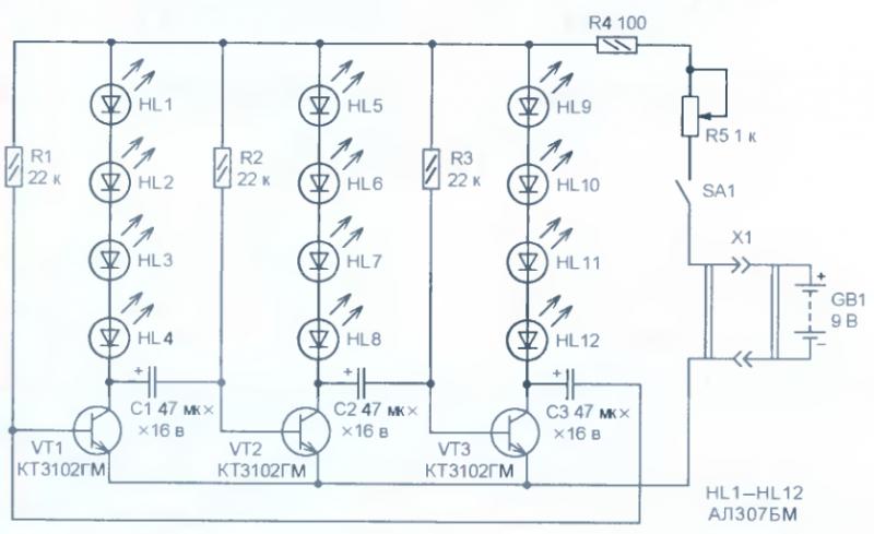 Рисунок 2 - Схема