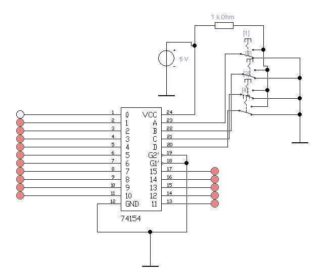 Рисунок 2 – дешифратор.