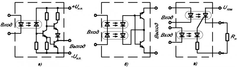 Электрические схемы некоторых