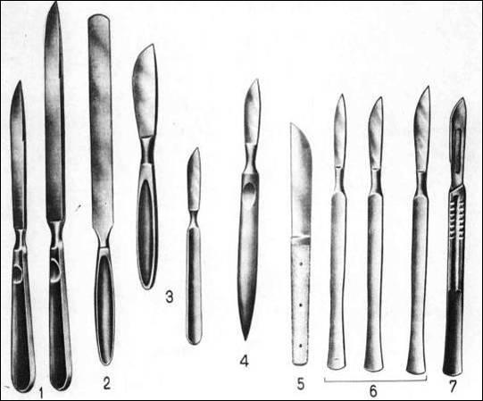 Нож из скальпеля своими руками