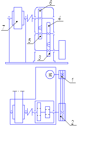 Проект привода ленточного