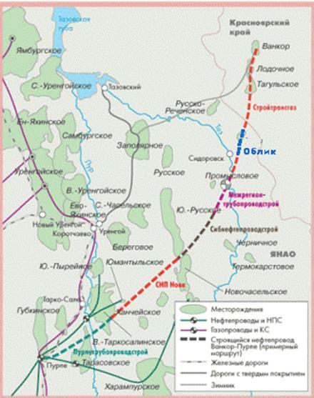 Восточный нефтепровод