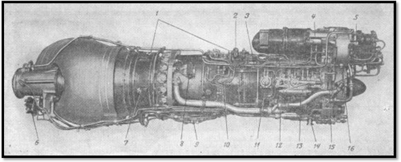 ушки для подвески двигателя;