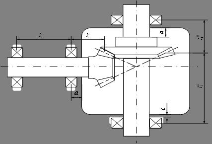 Рис.7 Схема редуктора