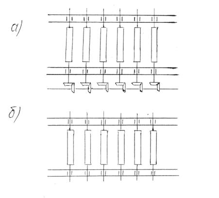 Схемы роликовых конвейеров: