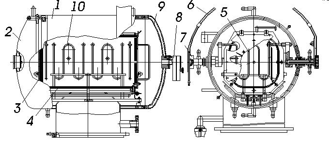 Вакуумная система печи