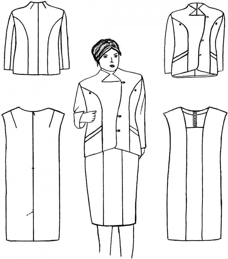 Дипломная dа на тему изготовления женского платья