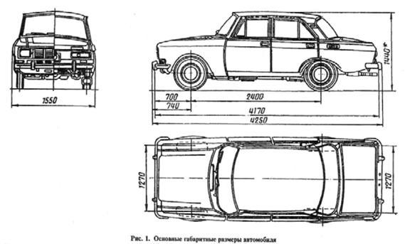 легкового автомобіля